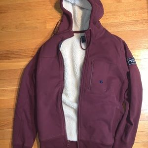 Abercrombie & Fitch zip up sweat shirt